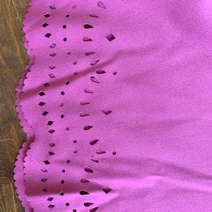 Loft purple skirt size 2 never worn